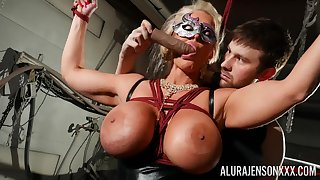 Masked cougar amazes involving their way obedience