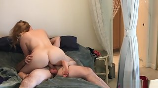 Nephew inlaw caught peeping fucks horny aunt inlaw - Erin Electra