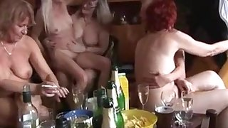 Grown up and Young Fucking Each Other in a Swinger Party
