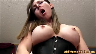 POV PORN Matured Rides You Plough You Ejaculant In Her